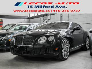 Used 2013 Bentley Continental SPEED for sale in North York, ON
