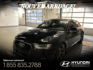 Used 2013 Audi A4 PREMIUM PLUS + S-LINE + GARANTIE !! for sale in Drummondville, QC