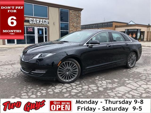 2016 Lincoln MKZ Reserve | Sunroof | Nav | THX Audio | Leather | AW