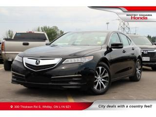 Used 2017 Acura TLX Base | Heated Seats, Rearview Camera, Power Moonro for sale in Whitby, ON