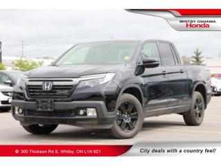 Used 2018 Honda Ridgeline Black Edition for sale in Whitby, ON