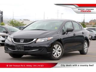 Used 2014 Honda Civic DX | Power Amenities, AM/FM/CD/AUX Audio System for sale in Whitby, ON