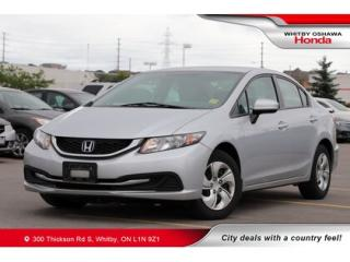 Used 2015 Honda Civic LX | Bluetooth, Air Conditioning for sale in Whitby, ON