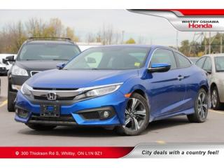 Used 2017 Honda Civic Touring | Navigation, Heated Seats, Power Moonroof for sale in Whitby, ON