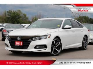 Used 2019 Honda Accord Sport 1.5T | Power Moonroof, Rearview Camera for sale in Whitby, ON