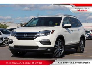Used 2017 Honda Pilot Touring | Navigation, Heated Seats, Power Moonroof for sale in Whitby, ON