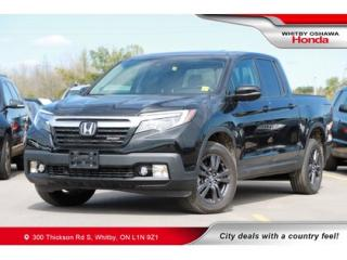 Used 2019 Honda Ridgeline Sport   Power Sunroof, Rearview Camera for sale in Whitby, ON
