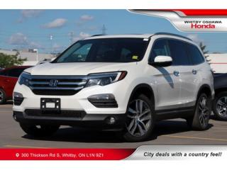 Used 2018 Honda Pilot Touring | Navigation, Heated Seats, Power Moonroof for sale in Whitby, ON