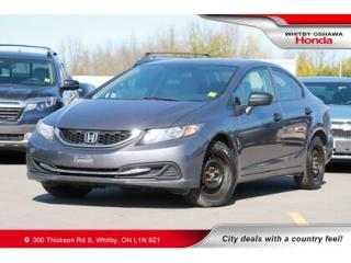 Used 2014 Honda Civic DX | Maintenance Minder, Auxiliary Jack for sale in Whitby, ON