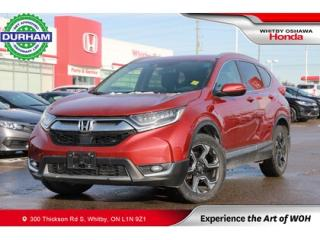 Used 2017 Honda CR-V Touring for sale in Whitby, ON