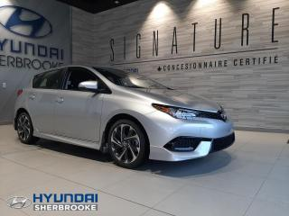 Used 2017 Toyota Corolla iM CAMERA+SAFETY SENSE+BANCS CHAUFFANTS for sale in Sherbrooke, QC
