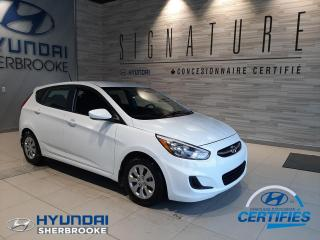 Used 2017 Hyundai Accent GL+A/C+BANCS CHAUFF+BLUETOOTH+CRUISE for sale in Sherbrooke, QC
