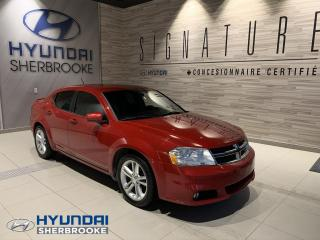 Used 2011 Dodge Avenger BAS KILO! SXT+A/C+BANCS CHAUFF for sale in Sherbrooke, QC