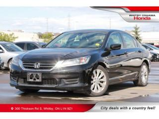 Used 2015 Honda Accord LX | Bluetooth, Air Conditioning for sale in Whitby, ON