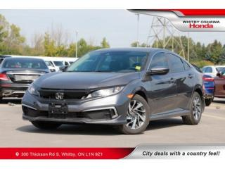 Used 2019 Honda Civic EX | Power Moonroof, Rearview Camera, Bluetooth for sale in Whitby, ON