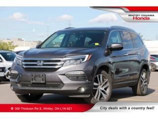 Used 2018 Honda Pilot Touring | Navigation, Power Moonroof for sale in Whitby, ON