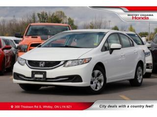 Used 2014 Honda Civic LX | Bluetooth, Air Conditioning for sale in Whitby, ON