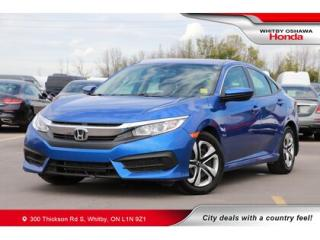 Used 2017 Honda Civic LX | Bluetooth, Air Conditioning for sale in Whitby, ON