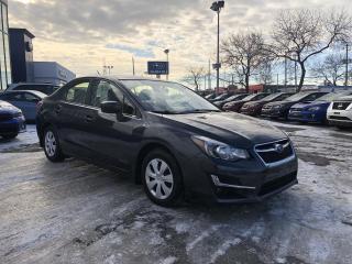 Used 2016 Subaru Impreza BERLINE 4 PORTES * BAS KILOMÉTRAGE! for sale in Trois-Rivières, QC