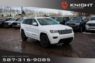 New 2020 Jeep Grand Cherokee Altitude V6 | Leather | Sunroof | Navigation for sale in Medicine Hat, AB
