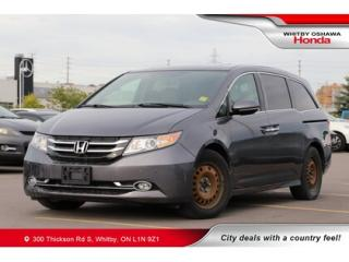 Used 2016 Honda Odyssey Touring | Navigation, Power Moonroof for sale in Whitby, ON