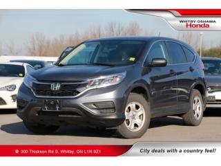 Used 2016 Honda CR-V LX | Bluetooth, Heated Front Seats for sale in Whitby, ON