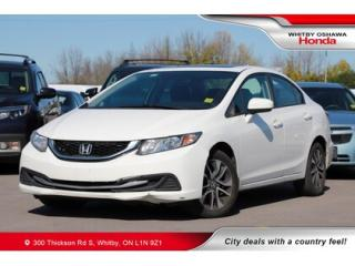 Used 2015 Honda Civic EX | Power Sunroof, Bluetooth for sale in Whitby, ON