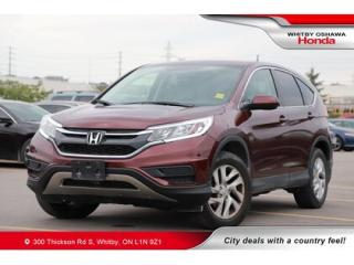 Used 2015 Honda CR-V SE | Air Conditioning, Rearview Camera for sale in Whitby, ON