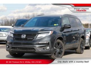 Used 2019 Honda Pilot Black Edition | Panoramic Moonroof, Navigation for sale in Whitby, ON