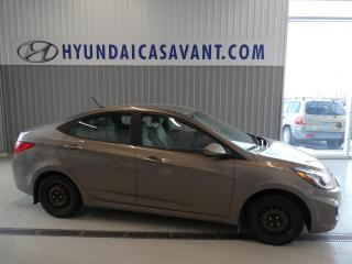 Used 2013 Hyundai Accent L for sale in St-Hyacinthe, QC