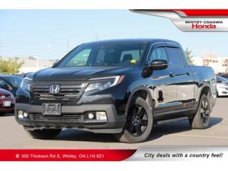 Used 2017 Honda Ridgeline Black Edition   Power Moonroof, Navigation for sale in Whitby, ON
