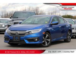 Used 2018 Honda Civic Touring | Navigation, Power Moonroof for sale in Whitby, ON