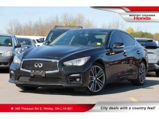 Used 2016 Infiniti Q50 - for sale in Whitby, ON
