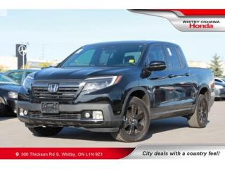 Used 2019 Honda Ridgeline Black Edition   Power Moonroof, Navigation for sale in Whitby, ON