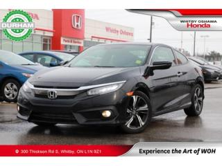 Used 2017 Honda Civic Touring | Navigation, Power Moonroof for sale in Whitby, ON
