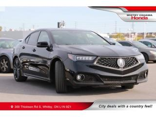 Used 2018 Acura TLX SH-AWD w/Technology Package for sale in Whitby, ON