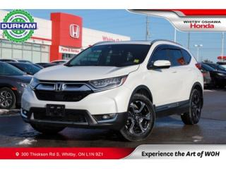 Used 2017 Honda CR-V Touring | Navigation, Heated Seats, Power Moonroof for sale in Whitby, ON
