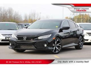 Used 2018 Honda Civic Si | Power Moonroof, Navigation, Heated Seats for sale in Whitby, ON