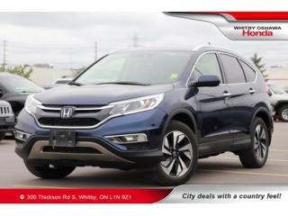 Used 2016 Honda CR-V Touring | Navigation, Power Moonroof for sale in Whitby, ON