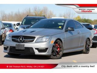 Used 2015 Mercedes-Benz C-Class C63 AMG for sale in Whitby, ON