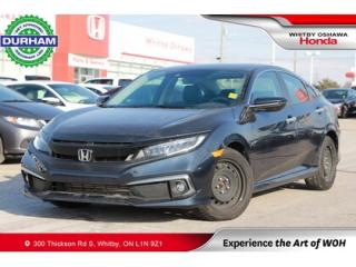 Used 2019 Honda Civic Touring | Navigation, Power Moonroof for sale in Whitby, ON