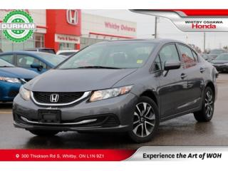 Used 2015 Honda Civic EX | Heated Front Seats, Power Moonroof for sale in Whitby, ON