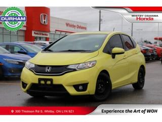 Used 2016 Honda Fit w/Navigation for sale in Whitby, ON