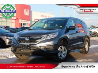 Used 2015 Honda CR-V AWD 5dr LX for sale in Whitby, ON
