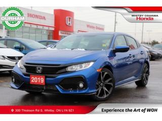 Used 2019 Honda Civic Sport for sale in Whitby, ON