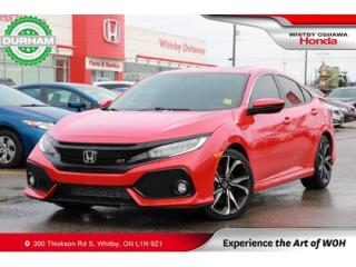Used 2018 Honda Civic SI for sale in Whitby, ON