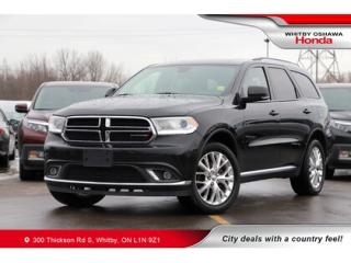 Used 2016 Dodge Durango AWD 4DR LIMITED for sale in Whitby, ON