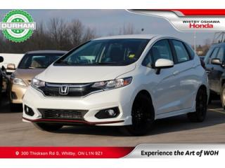 Used 2019 Honda Fit Sport Manual for sale in Whitby, ON