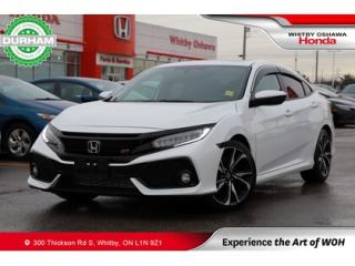 Used 2017 Honda Civic SI for sale in Whitby, ON