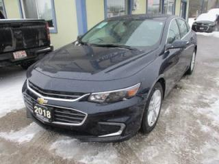 Used 2018 Chevrolet Malibu LIKE NEW LT EDITION 5 PASSENGER 1.5L - ECO-TEC.. FACTORY WARRANTY.. BACK-UP CAMERA.. BLUETOOTH SYSTEM.. KEYLESS ENTRY & START.. for sale in Bradford, ON